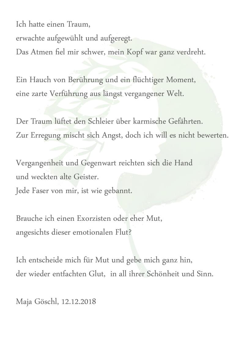 Gedichte Und Lyrik Maja Göschl